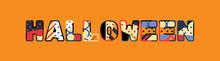 Halloween Concept Word Art Ill...