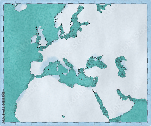 Cartina Muta Europa E Medio Oriente.Cartina Del Mar Mediterraneo Ed Europa Fondo Marino Africa E Medio Oriente 3d Cartina Fisica Mappa Cartografica Atlante Acquista Questa Illustrazione Stock Ed Esplora Illustrazioni Simili In Adobe Stock Adobe Stock