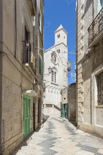 Photo street in puglia Italy