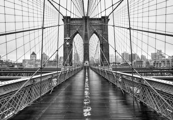 FototapetaBrooklyn bridge of New York City