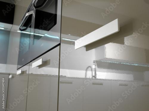 Fotografie, Obraz  Dettaglio maniglia cucina