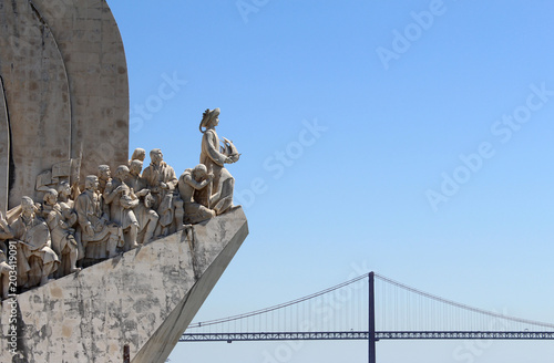 Fotografia  Monument to the Discoveries in Lisbon, Portugal