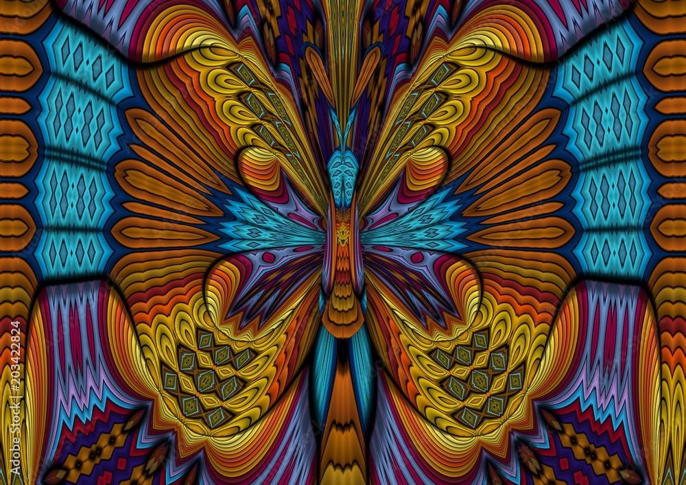 Fototapeta Bajkowy motyl