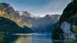 Gebirge an einem See