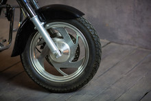 Black Motorcycle And Bike