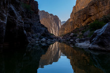 Canyon Reflections In Big Bend