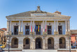 Historic town hall on the main square of Toro, Spain