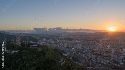 Poster Athens Aerial View Of Itajai, Brazil