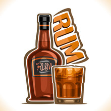 Vector Illustration Of Alcohol...