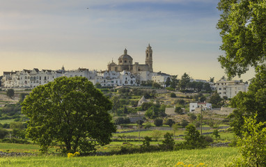 The most beautifull Old Towns in Italy: Locorotondo, laid on the top of a hill, has one of the most suggestive skylines of Apulia.