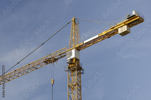 Lieblings Baukran Turmkran Turmdrehkran – kaufen Sie dieses Foto und finden &HE_16