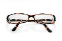 Glasses In Horn Frame With Fol...