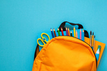 Back To School Concept. Backpa...