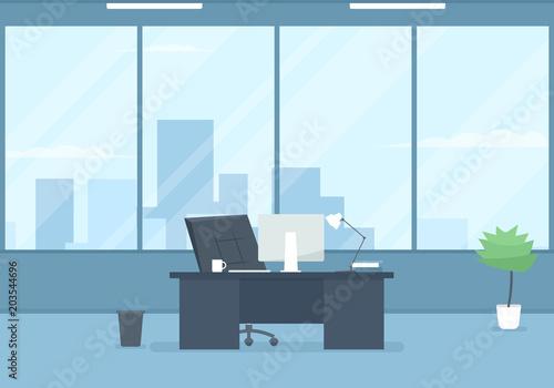 Obraz empty modern office - fototapety do salonu