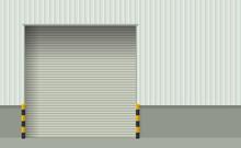 Roller Shutter Warehouse Door