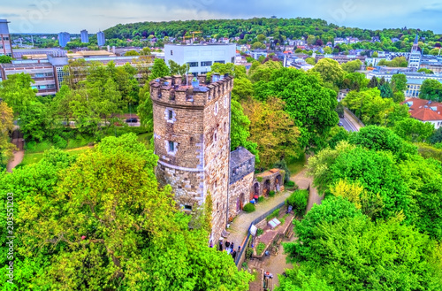 Langer Turm, a medieval tower in Aachen, Germany Wallpaper Mural