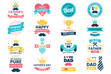 Father Day Birthday Vector Log...