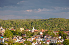 Waynesburg Pennsylvania In Summer