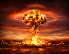 Nuclear Bomb Explosion -  Mush...