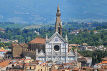 Basilica Of Santa Croce In Florence, Italy.
