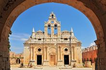 The Main Church Of Arkadi Mona...