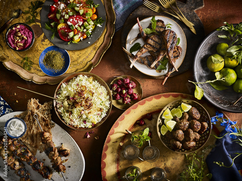 Moroccan Family Meal - 203584261