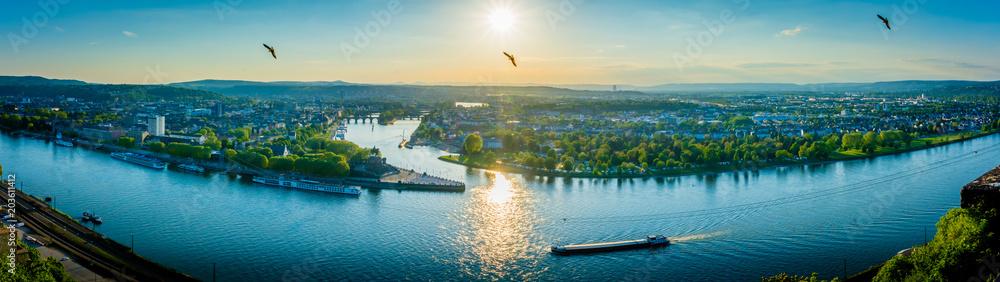 Fototapety, obrazy: Koblenz - Germany