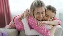 Sister Love. Best Friends Hugg...