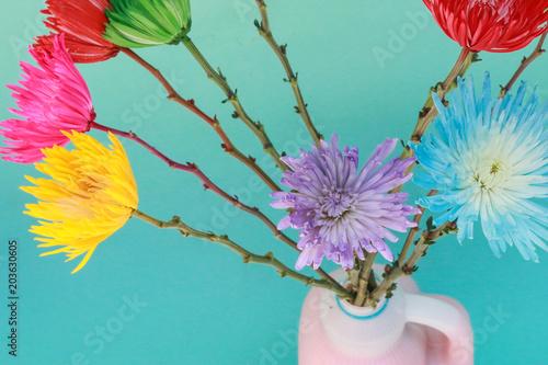 Tuinposter Bloemen Vivid Bouquet