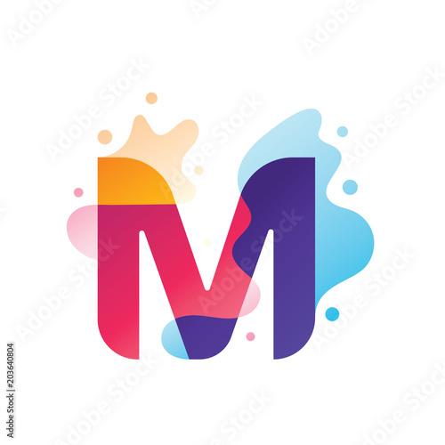 Photo Letter M Logo