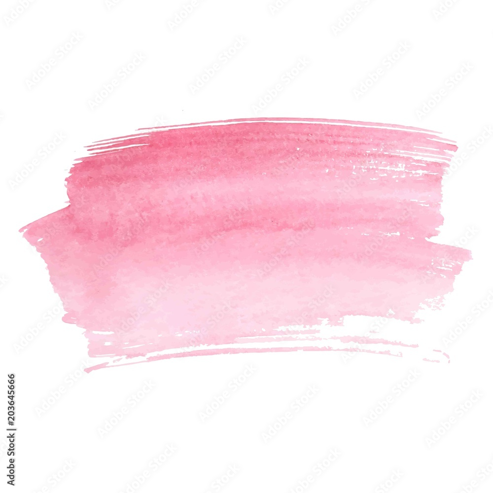 Fototapety, obrazy: Abstract watercolor brush strokes painted background.