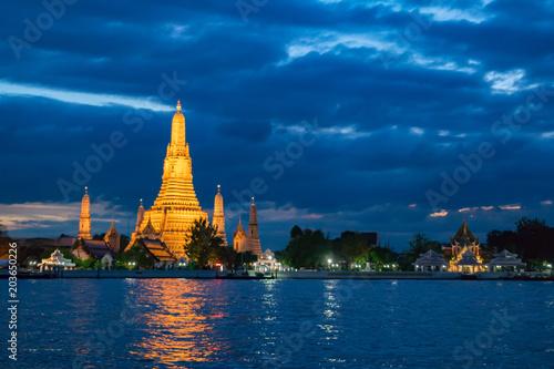 Keuken foto achterwand Bangkok Wat Arun Temple in Bangkok Thailand