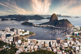 Rio de Janeiro Beautiful Sunset - Brazil