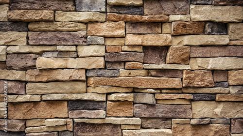 Fototapeta natural stone brick wall texture background obraz