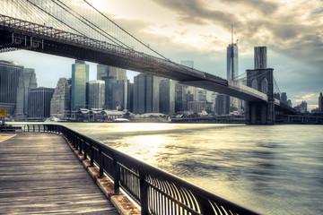 Fototapeta New York City Skyline NY - USA