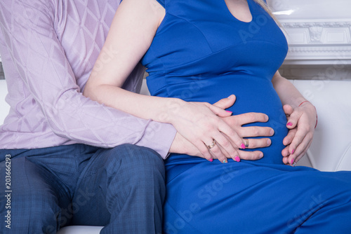 Romantic Pregnancy Pregnant Gir Stomach Couple Pregnancy Closeup Beautiful Young Couple Expecting Baby Buy This Stock Photo And Explore Similar Images At Adobe Stock Adobe Stock