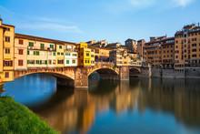 Bridge Ponte Vecchio In Floren...