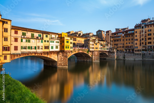 Fotobehang Florence Bridge Ponte Vecchio in Florence, Italy