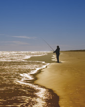 Surf Fishing Padre National Se...
