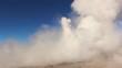 Erupting Geyser at El Tatio, Atacama Desert, Chile.