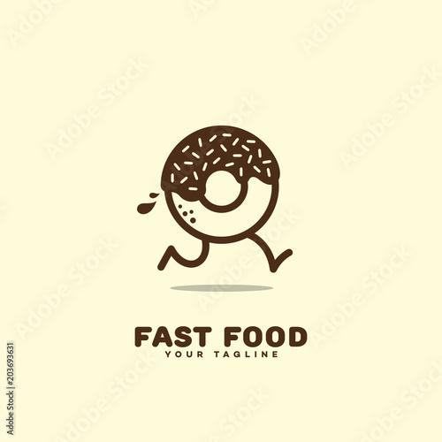 Fotografiet  Fast food logo