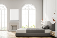 White Arched Window Bedroom, P...