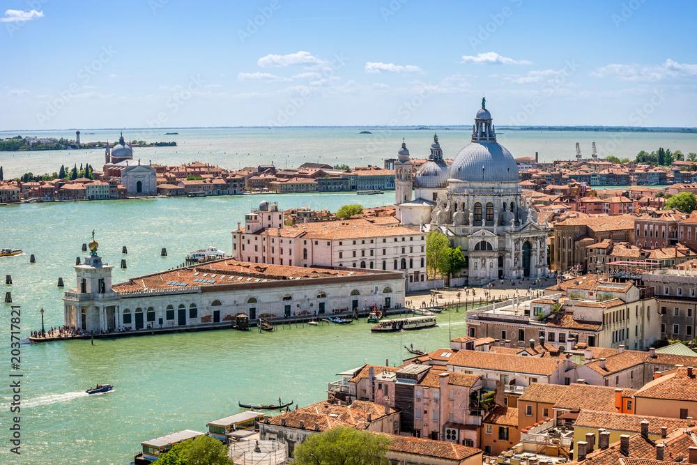 Fototapety, obrazy: Panorama Wenecji, Włochy, Europa