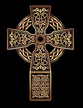 Vector Celtic Cross