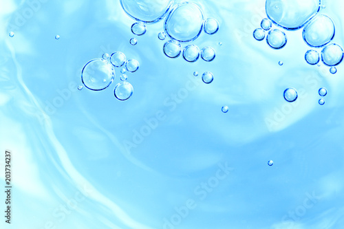 水、泡、水面、健康、イメージ、背景、素材