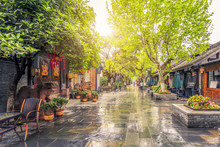 Ancient Streets And Dwellings In Chengdu