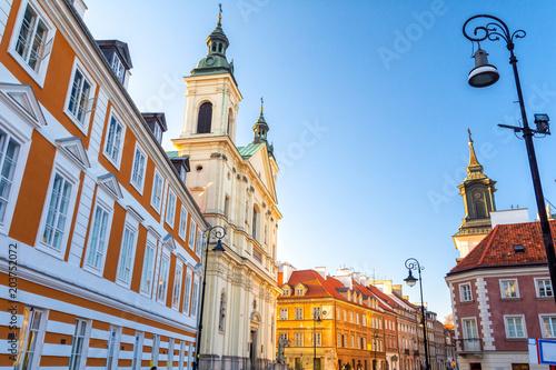 Obraz Stare Miasto w Warszawie - fototapety do salonu