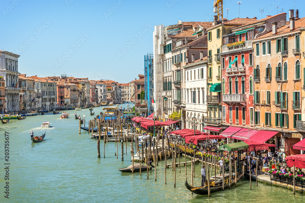 Fototapety, obrazy: Wenecja, Canal Grande, Włochy