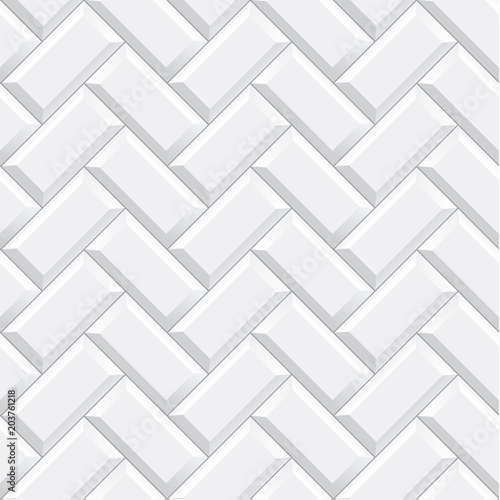 Seamless Herringbone Subway Tile