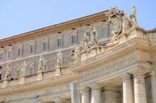 Palacio Apostólico , Papal O Del Vaticano , En Ciudad De Vaticano, Roma, Italia